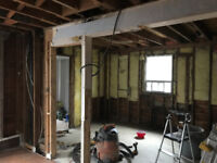Professional drywall taper needed for kitchen / dinning room ren