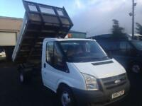 Ford Transit 2.4TDCi one stop alloy tipper 2007 57 Reg