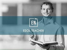 ESOL teacher needed in Central London