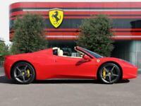 2014 Ferrari 458 SPIDER 458 Spider 2 Door Petrol Manual