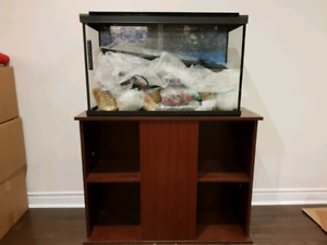 30 Gallon Fish Tank with stand