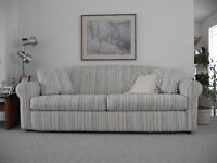 Queen Sofabed  with matching Loveseat