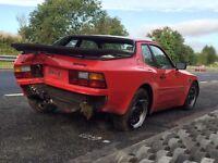 Porsche 944 breaking