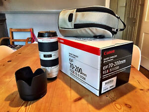Brand new Canon EF 70-200mm f/2.8L IS II USM