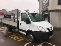 "2008 08 IVECO DAILY 35C12 LWB DROPSIDE WITH 14""6 FT BED"