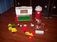 Littile People Play sets