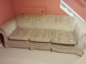 Set of couch and chair