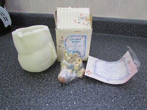 Cherished Teddies - Susan, Earl and Kristen