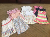 Girls 6-9 months summer dresses baby clothes