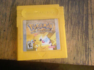 Pokemon Yellow (Special Pikachu Edition) & Medal of Honor
