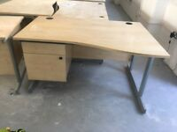 15 x quality pine desk with built in draws on clearance @ just £35 each!!
