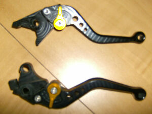 PAZZO SHORTY ADJUSTABLE RACING LEVERS FOR SUZUKI HAYABUSA Cambridge Kitchener Area image 1
