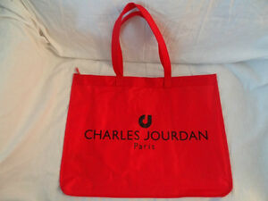 Charles Jourdan Tote Shoppers Carry Bag Shopping Bag - Paris