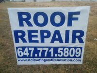 OAKVILLE ROOF REPAIRS 647-771-5809