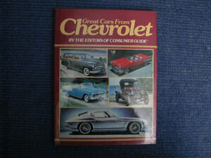 Great Cars From Chevrolet. 1911 to 1971.