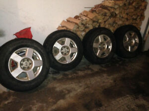 Nissan Frontier X-terra rims/winter tires