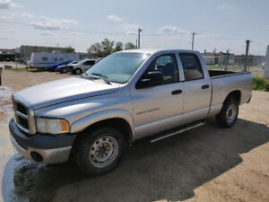 2004 Dodge Ram 2500 6 speed cummins turbo 2WD!!!