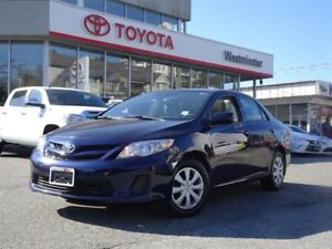 Toyota Corolla Sunroof Package 2013