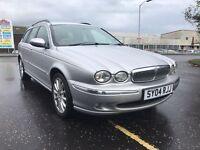 Jaguar XTYPE D estate excellent condition service history