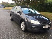 2007 Ford Focus 1.8 TDCI Ghia Low Mileage! 1 Owner +Not VW Golf Seat Leon Audi A3 A4 BMW Astra