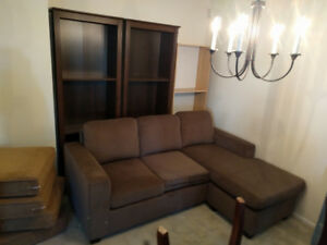 L-shaped sectional couch - brand new