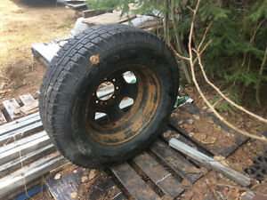 "Spare 17"" Dually Tire and Rim"