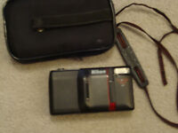 Nikon camera Tele Touch 300 AF & x-ray film pouch