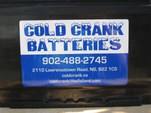 BATTERIES, STARTERS, LAWN EQUIPMENT PARTS AND MORE