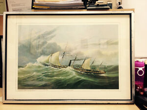 """H. Papprill Lithograph """"Great Britain"""" London Ontario image 1"""