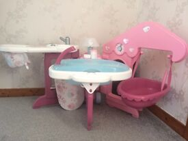 Smoby foldable baby centre