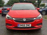 2016 Vauxhall Astra 1.6 DESIGN CDTI 5d 108 BHP Hatchback Diesel Manual