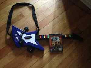 Rock Band / Guitar Hero Guitar with Game