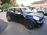 MINI Countryman Cooper S ALL4 (blue) 2012