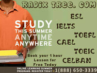 English Tutor / IELTS - TOEFL Prep Courses - 100% Results ! ESL