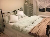King Size Bed & Mattress £100