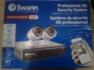 Security Cameras System Brand New X Two System