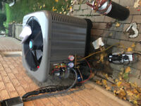 Installer furnace and air conditioning with G2 license and 313d