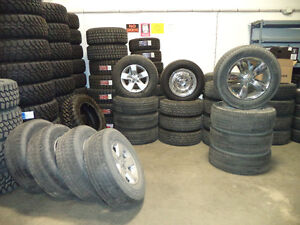 Used Dodge Ram 1500 OEM rim and tire package ONLY $500 set 4!!