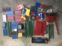 Huge job lot of vintage toys. Meccano construction pieces from around 1950 and onwards