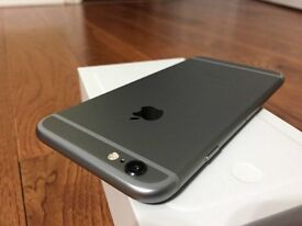 IPhone 6 like brand new (unlocked) with warranty and 2 brand new phone cases