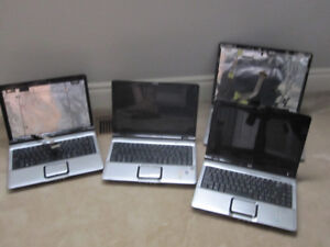 4 HP Laptops For Parts Or Repair