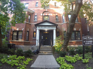 Large 4 bedroom apt. in McGill Ghetto.