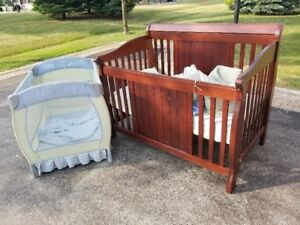 Baby Crib and Playpen