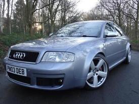 2003 03 Audi RS6 4.2 auto quattro..RECENT MAJOR SERVICE & TIMING BELT