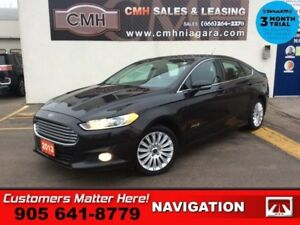 2013 Ford Fusion SE  NAV LEATH ROOF CAM HS P/SEATS MYFORD-TOUCH