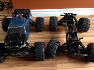 Two HPI savage 25's