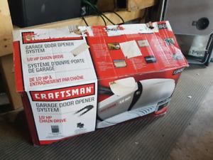 Craftsman 1/2 hp garage door opener