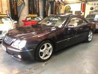 MERCEDES CL 500 Black 5.0 V8 Auto Petrol, 2004 (53)