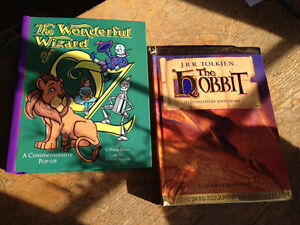 Pop-up Books - Wizard of Oz & The Hobbit