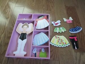 Magnetic Wooden Dress-Up Doll